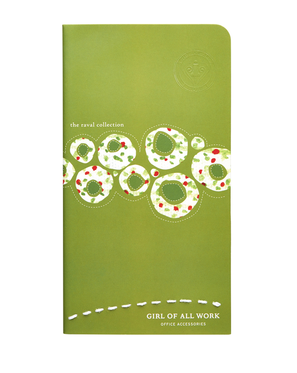 Lime Raval Softbook - Blank Paper