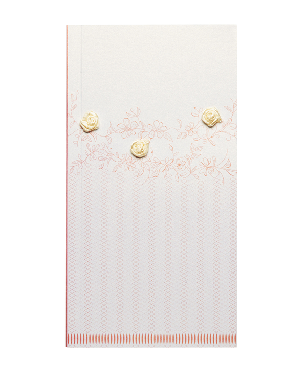 Pearlescent Handkerchief Booklet: Rose Blush