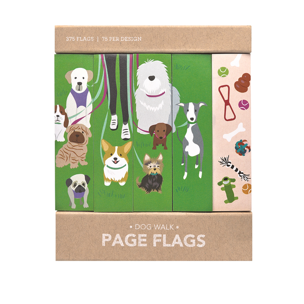 Dog Walk Page Flags